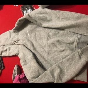 Nike gray hoodie size S in Men's